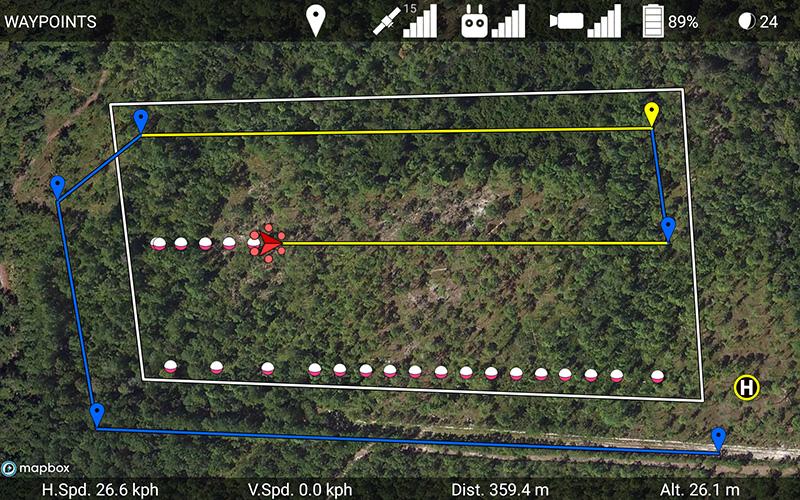 Drone Datasheet Diagram