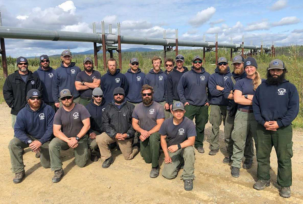 Lakeview Hotshots photo, Alaska in 2019. Lakeview Hotshots photo.